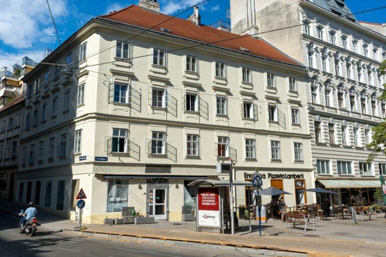Wohnhaus, 18. Jahrhundert, Plattenstil, Wien, Neustiftgasse, Kellermanngasse