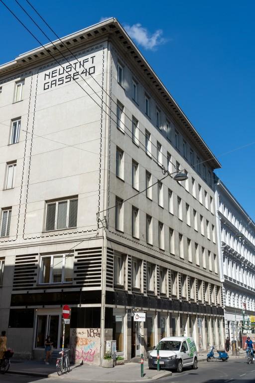 Wohnhaus in der Neustiftgasse 40, 1070 Wien, Architekt: Otto Wagner