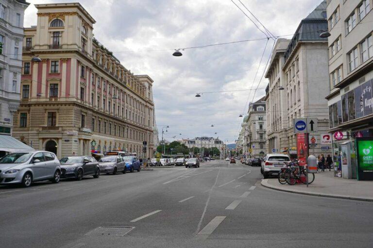 Schottengasse im 1. Bezirk (Foto: 2019)