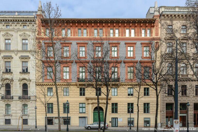 Gebäude am Schottenring von Otto Wagner, Neorenaissance, Historismus, Wien