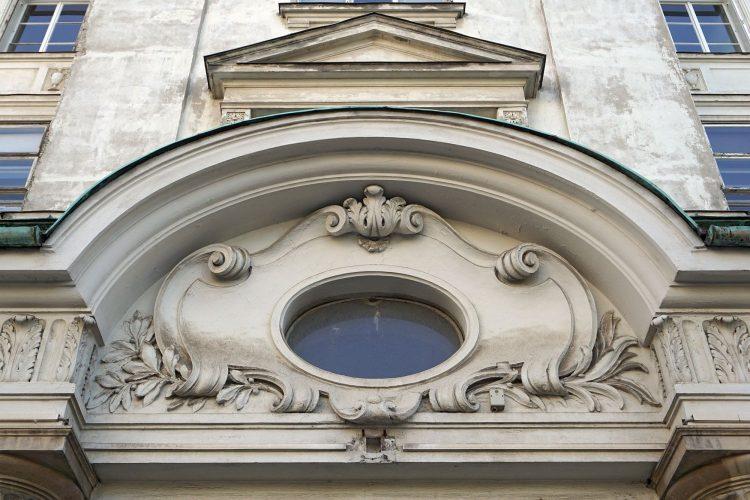 AKH Wien, I. Medizinische Klinik, Fassadendetail