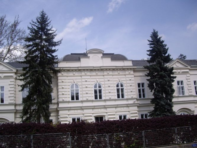 Gebäude des Institute of Science and Technology in Gugging