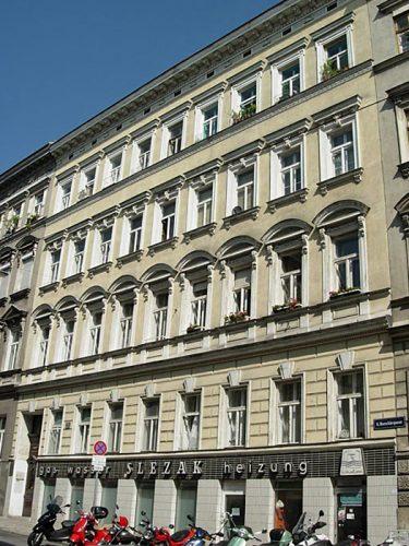Borschkegasse 14: erbaut Ende 19. Jahrhundert, Abriss 2014 (Foto: MA 19/Stadt Wien)