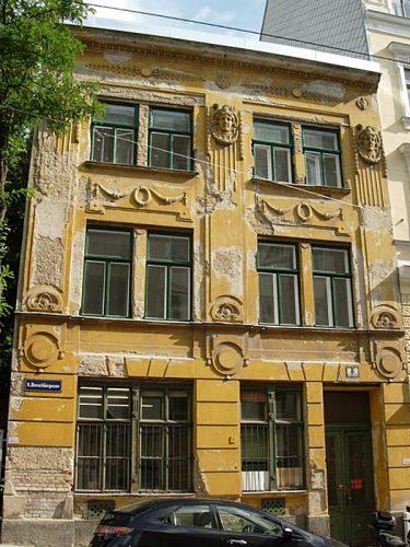 Jugendstilgebäude Borschkegasse 8, Abriss 2015, 1090 Wien