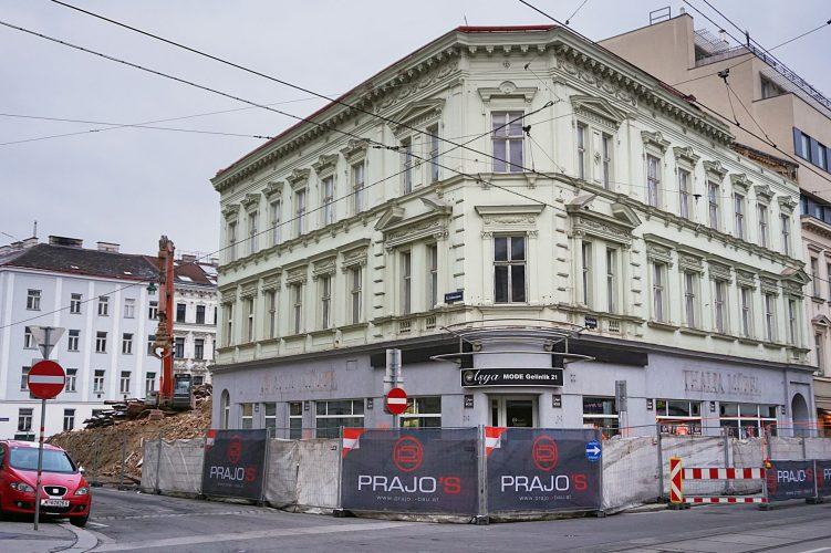 Abriss 2018: Thaliastraße 56 / Lindauergasse 2