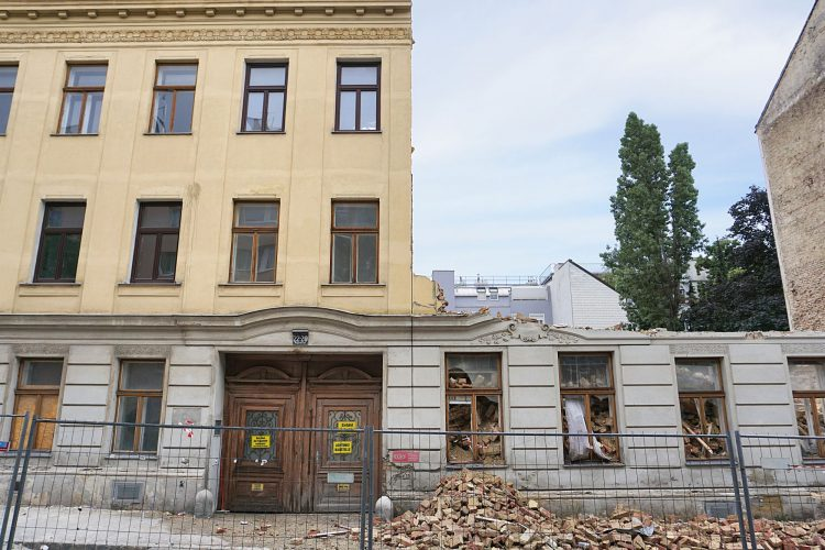 Abriss 2018: Heigerleinstraße 20-22