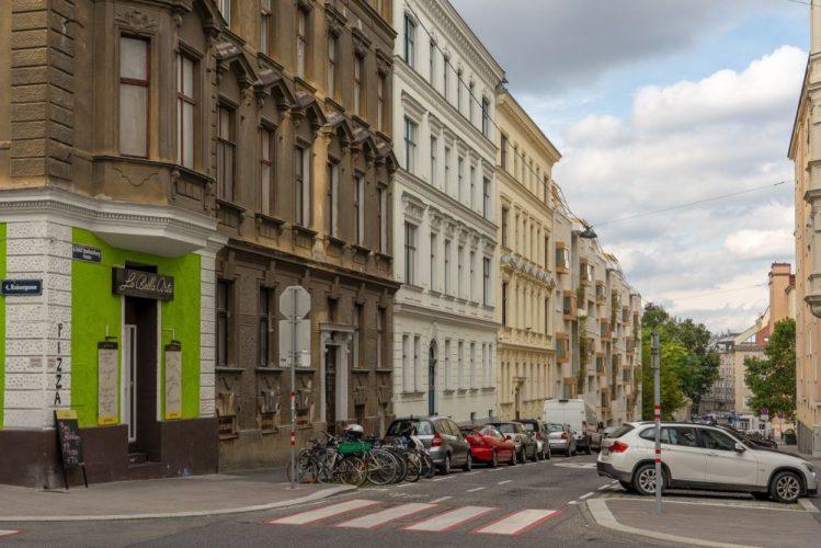 Graf-Starhemberg-Gasse, Rainergasse, Wien-Wieden