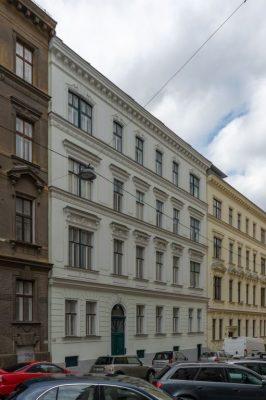 Gründerzeithaus Graf-Starhemberg-Gasse 18, Architekt: Emil von Förster, Wien-Wieden