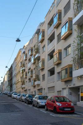 Neubau-Wohnhaus in der Graf-Starhemberg-Gasse, 4. Bezirk, Wien