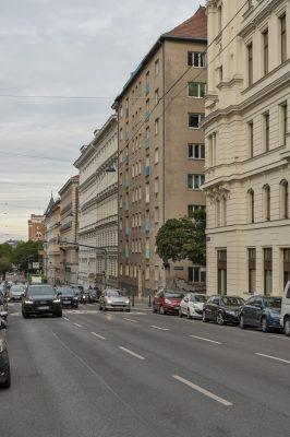 Straße, Autos, Gründerzeithäuser