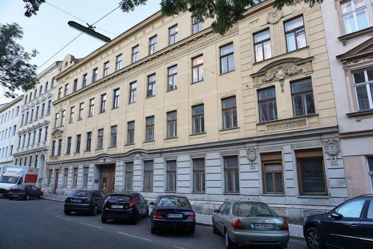 Jugendstilhaus Heigerleinstraße 20-22 vor dem Abriss (2018)