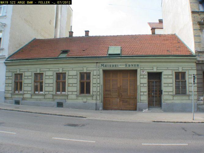 Abgerissen: Huttengasse 85 (Foto: MA 19/Stadt Wien)
