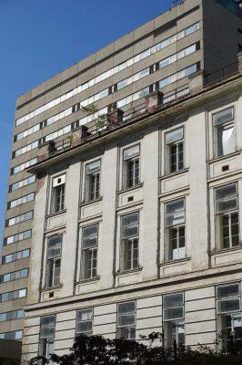 Historisches Klinikgebäude des Wiener AKH