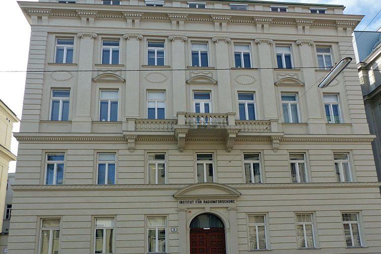 Ehemaliges Institut für Radiumforschung in Wien