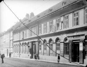 Kaiserstraße 31 im Jahr 1908 ÖNB/Stauda)