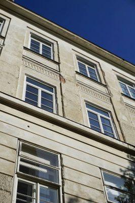 ehemalige Kinderklinik des Wiener AKH, Architekt: Emil Förster, erbaut 1909-1911