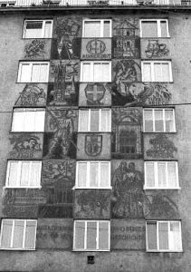 Sgraffitto im Jahr 1982 (CC BY-NC-ND 4.0, WStLA/Hans Matz)