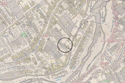 Marchettigasse 2-6 Karte 1812