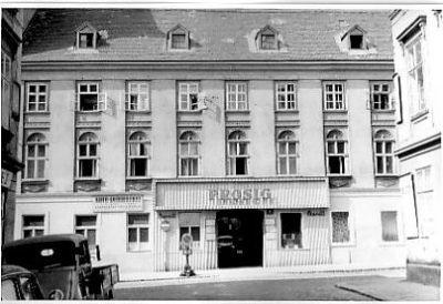 alte Aufnahme des Hauses Marchettigasse 5, Wien-Mariahilf