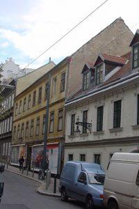Marchettigasse 8: erbaut 1822, Abriss ca. 2006 (Foto: 2002, MA 19/Stadt Wien)