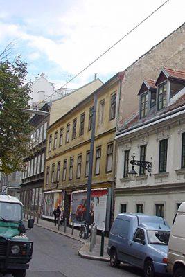 Marchettigasse 8: Erbaut 1822, Abriss ca. 2006 (Foto: MA 19/Stadt Wien)