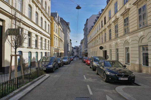Marchettigasse von Gumpendorferstraße