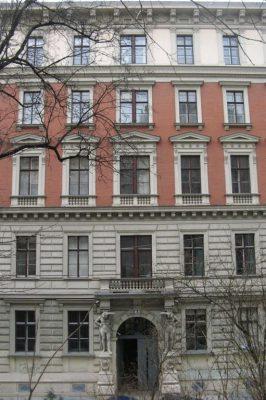 Gründerzeithaus Mölker Bastei 2, Innere Stadt, Wien, Architekt: Emil Förster