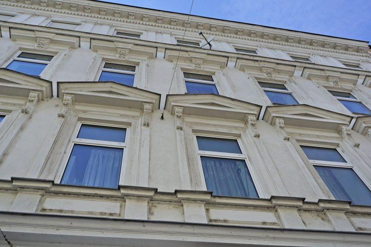 Gründerzeithaus Moissigasse 3 in Kaisermühlen, Wien-Donaustadt, erbaut 1883