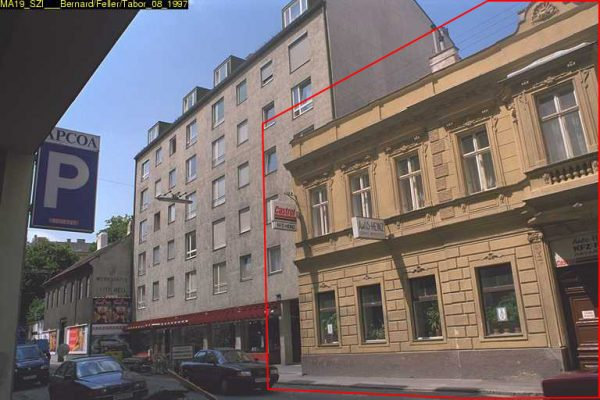 Abriss ca. 2009: Mollardgasse 18 (6. Bezirk. Foto: MA 19/Stadt Wien)