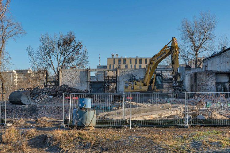 Nordbahnhalle wird nach Brand abgerissen, Wien-Leopoldstadt