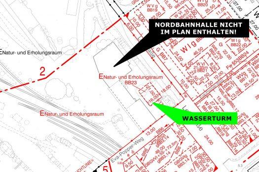Nordbahnhalle plan