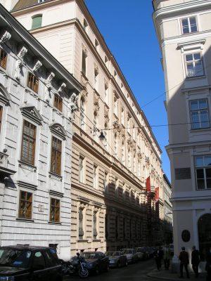 Palais Dorotheum, Wien, Innere Stadt, Architekt Emil von Förster