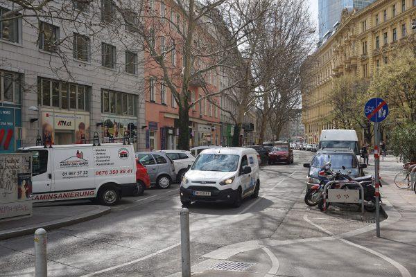 Praterstraße Ferdinandstraße 2019