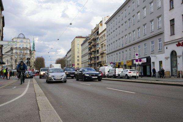 Praterstraße Nestroyplatz 2019