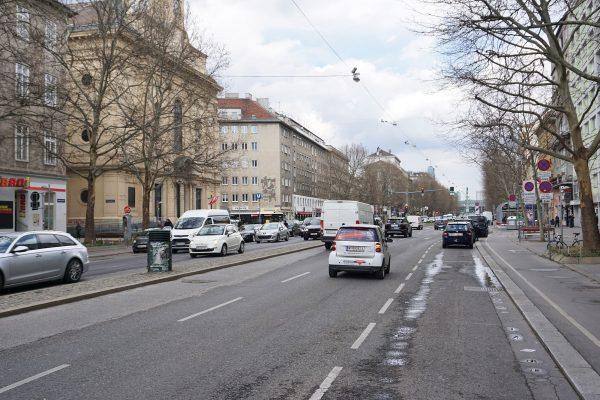 Praterstraße Rotensterngasse 2019