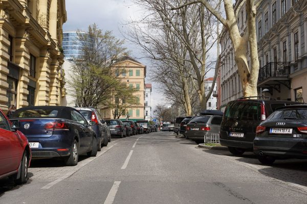 Praterstraße Zirkusgasse 2019