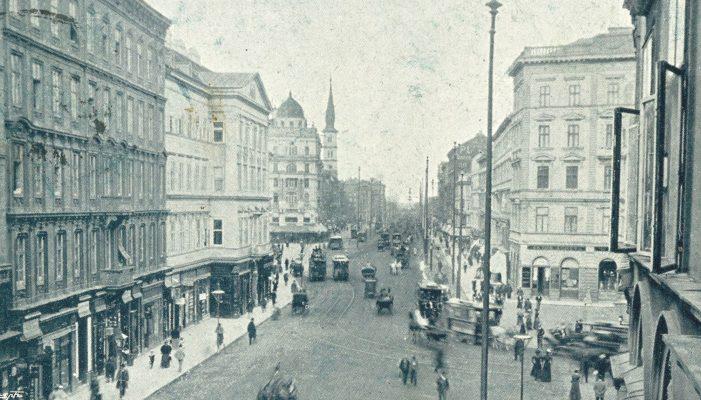 Praterstraße ca. 1898 AK 2