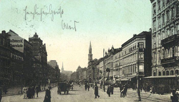 Praterstraße vllt. 1905 AK