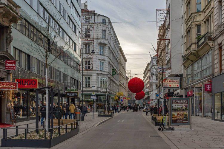 Begegnungszone Rotenturmstraße, 2019, Wien, Innere Stadt (1. Bezirk)