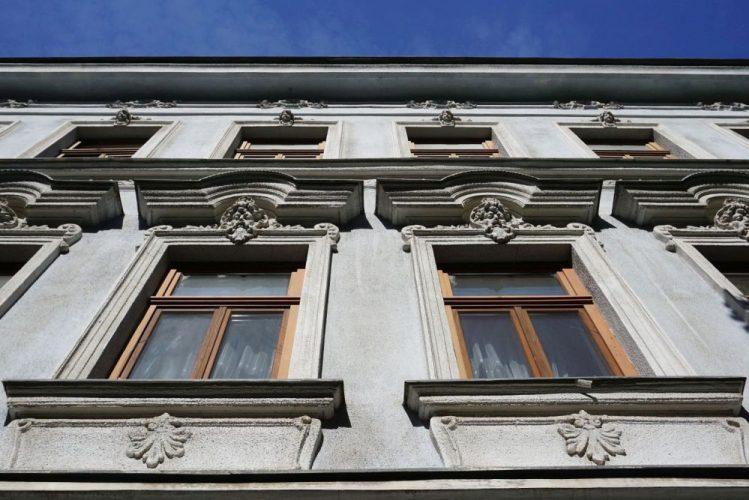 Gründerzeithaus Schiffmühlenstraße 57 in Kaisermühlen, Wien-Donaustadt, erbaut 1892