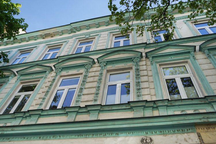 Gründerzeithaus Schiffmühlenstraße 78 in Kaisermühlen, Wien-Donaustadt (22. Bezirk), Baujahr 1874