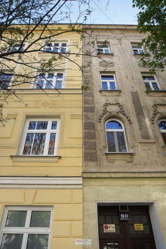 Mendelssohngasse 7 und Schiffmühlenstraße 80 in Kaisermühlen, Wien-Donaustadt