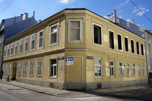 Abriss 2018: Schopenhauerstraße 56 (18. Bezirk)