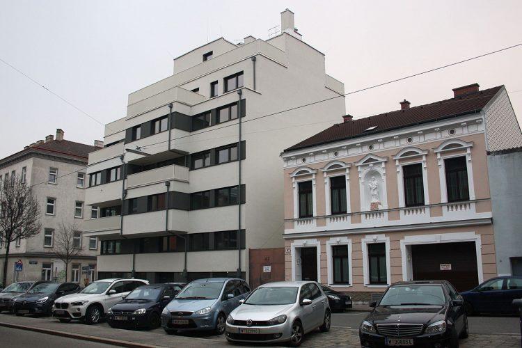 Seeböckgasse 45 (Neubau), 47 (Altbau)