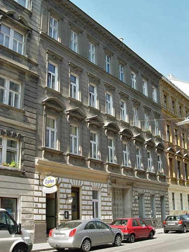 Sobieskigasse 35: erbaut 1894, Abriss 2015 (Foto: MA19/Stadt Wien)