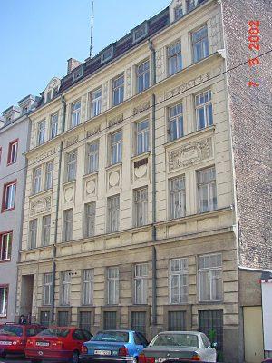 Abriss ca. 2003: Tautenhayngasse 13 (15. Bezirk, Foto: MA19/Stadt Wien)