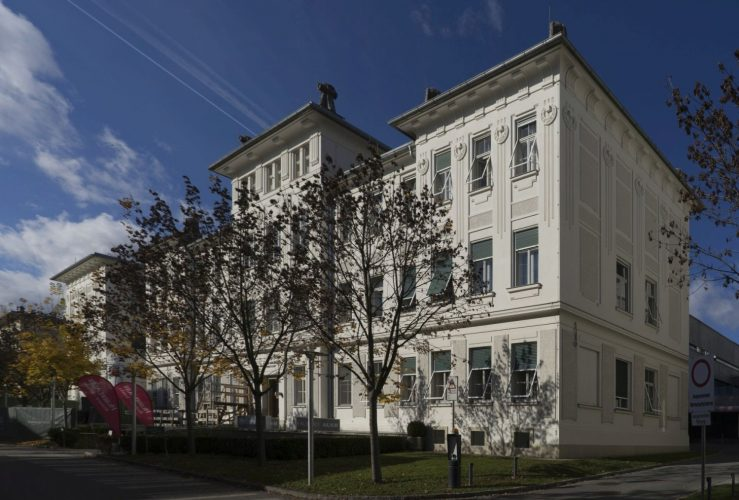 Jugendstil-Klinikgebäude in Graz