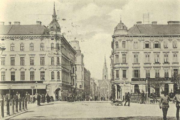 Wieder Gürtel_Argentinierstraße um 1900