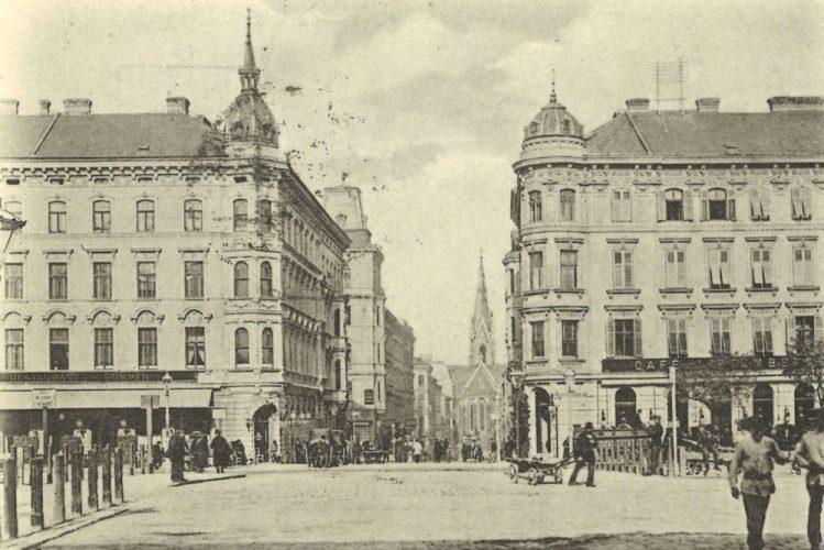 Wieder Gürtel und Argentinierstraße um 1900