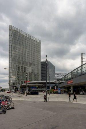 Wien Hauptbahnhof, Bürohäuser